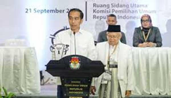 TKN Nayatakan Jokowi-Ma'ruf Menang Akan Dikawal 346 Anggota Parlemen