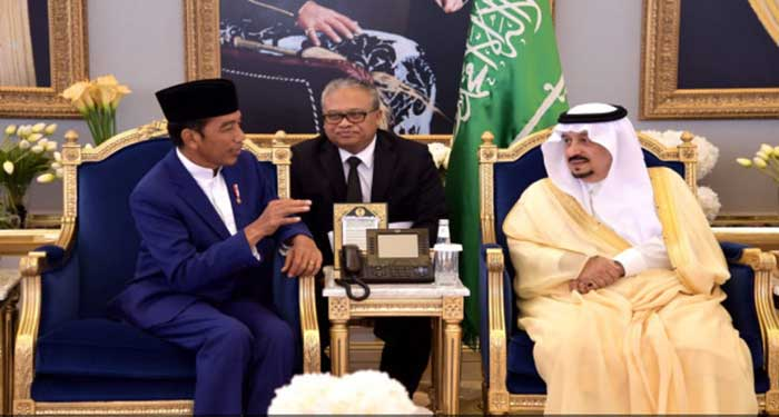 Sebelum Umrah, Jokowi Penuhi Undangan Raja Salman