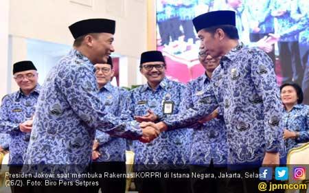 Jokowi Ajak KORPRI Sigap Merespons Perubahan Global