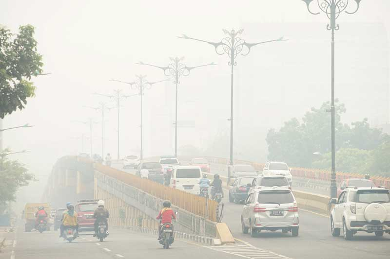 101 Hotspot Terpantau di Riau, Diprediksi Hujan Belum Turun hingga Malam