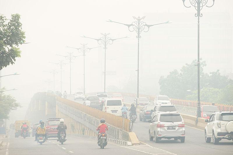 Riau Masih Diselimuti Kabut