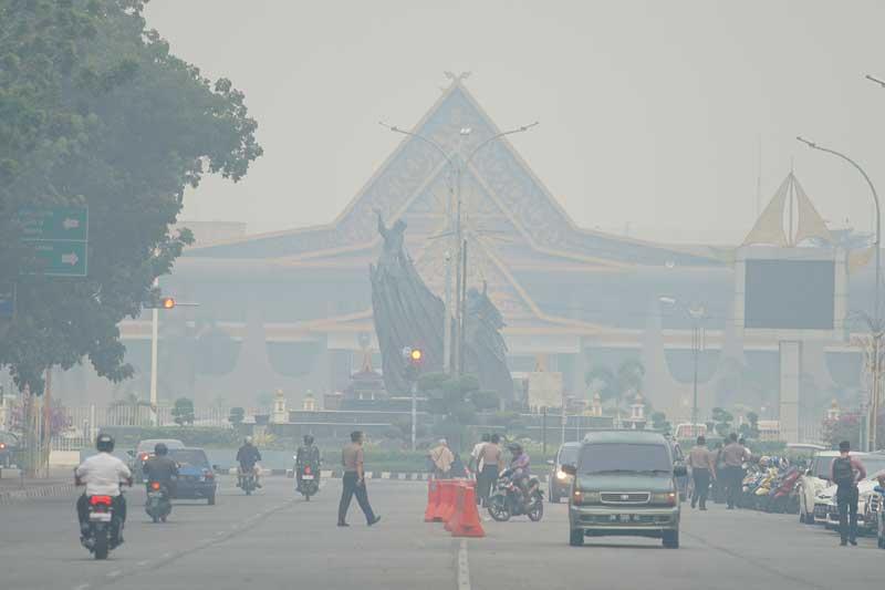 Kualitas Udara Masih Tidak Sehat, Libur Sekolah di Pekanbaru Diperpanjang