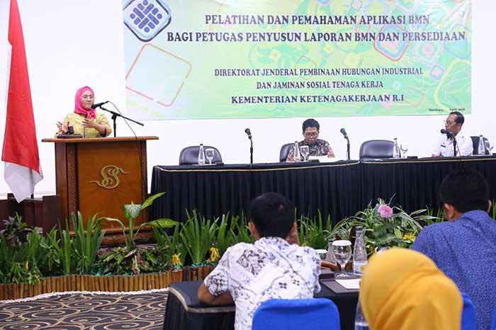Kemnaker Gelar Pelatihan Peningkatan Kapasitas Pejabat Struktural Hubungan Industrial