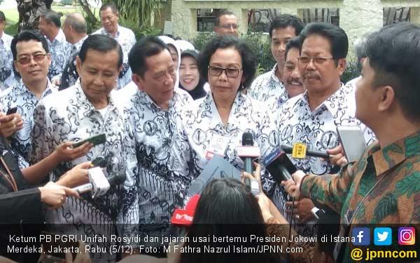 Koordinator Honorer K2 Ikut Desak Ketum PB PGRI Mengundurkan Diri