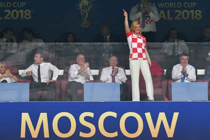 Sempat Dikira Bintang Porno, Inilah Sosok Presiden Kroasia Kolinda Grabar