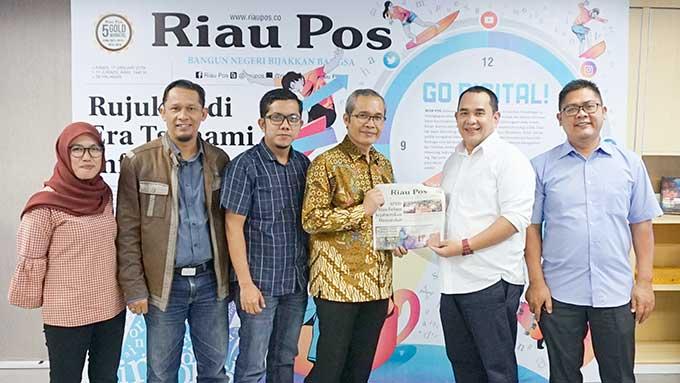 Kunjungi Riau Pos, Alexander Marwata Bicara Soal Penguatan KPK