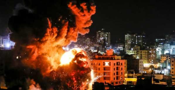 Gaza Membara, Netanyahu Kirim Armada Israel ke Perbatasan Palestina