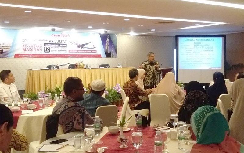 Lion Air Buka Penerbangan Umrah Pekanbaru-Madinah