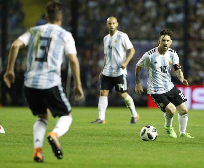 Argentina Kandaskan Haiti, Messki Bukukan Hat-trick