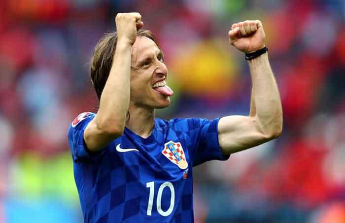 Golden Ball Award untuk Permainan Apik Luka Modric