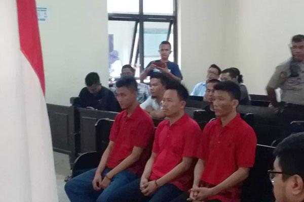 2 Orang Sindikat Narkoba Asal Riau Divonis Mati