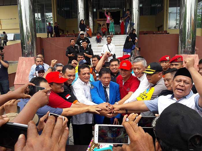 May Day, Buruh di Riau Aksi Kebersamaan di Gedung Juang