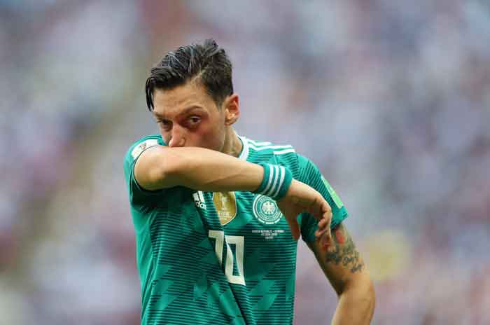 Wow! Ozil Diminta sang Ayah Mundur dari Timnas Jerman usai Piala Dunia 2018