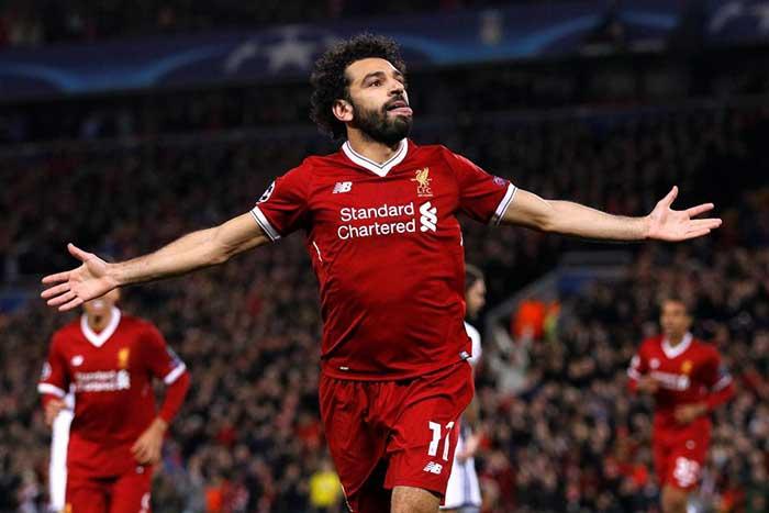 Mohammed Salah Berhak Boyong Sepatu Emas