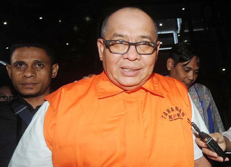 Mantan Sekda Dumai Dituntut 7,5 Tahun Penjara