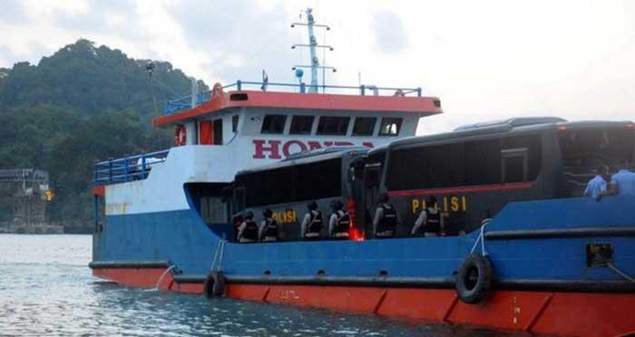 58 Tahanan Terorisme Dipindah dari Nusakambangan ke Bogor