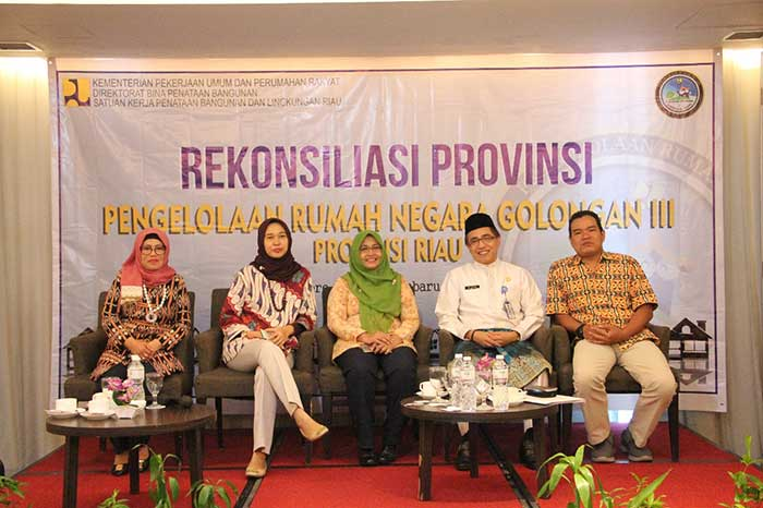 Satker PBL Riau Gelar Rekonsiliasi