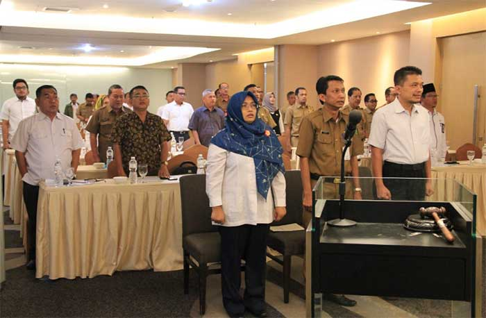 PBL Riau Taja Rakor Renovasi Sarana Pendidikan Dasar dan Menengah serta Madrasah