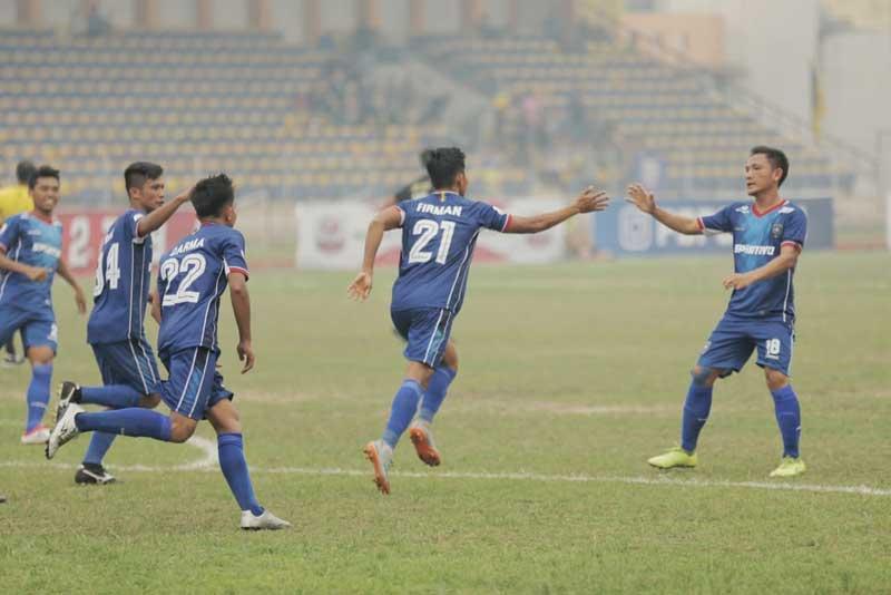 Dua Gol Firman Bawa PSPS Bungkam Cilegon United