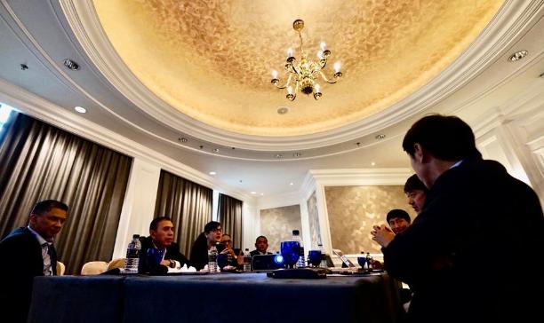 Penuhi Undangan PSSI, Shin Tae-yong Presentasi Program