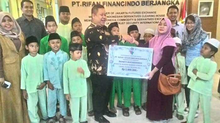 PT Rifan Financindo Berjangka Catat Transaksi Hingga 540.541 Lot