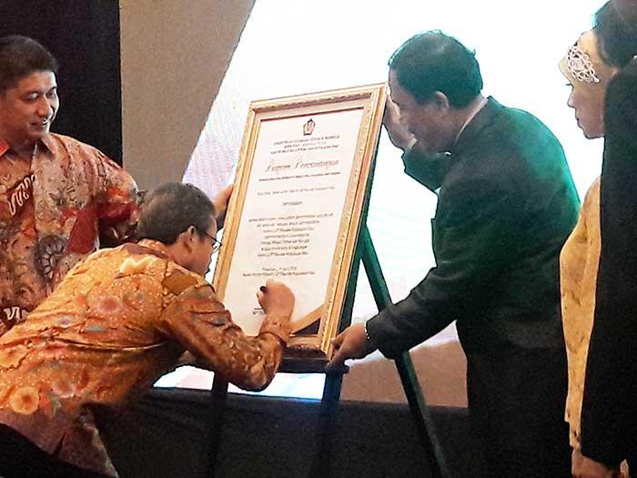 Ini Komitmen Kanwil Pajak Riau Kepri untuk Bebas dari Korupsi