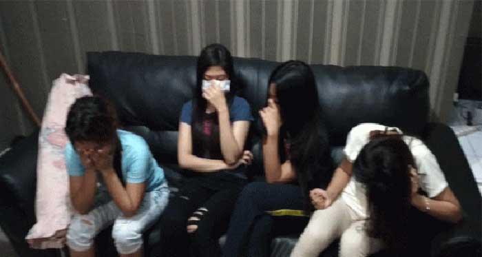 Tiga Penari Erotik di Dekat Kantor Wali Kota Batam Diamankan Polisi