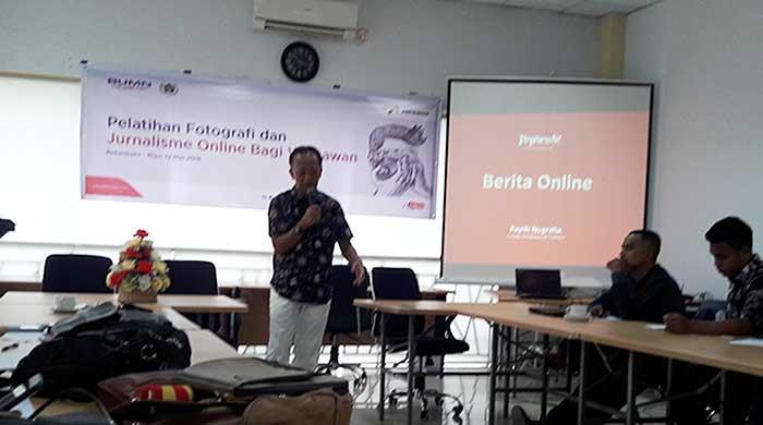 Pertamina dan PWI Taja Pelatihan Jurnalistik Online dan Fotografi