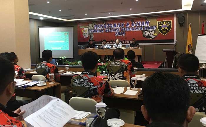 Perbakin Riau Gelar Pelatsar Tembak Reaksi