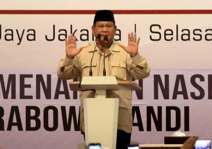 Prabowo dan Sandiaga Resmi Nyatakan Tolak Penghitungan KPU