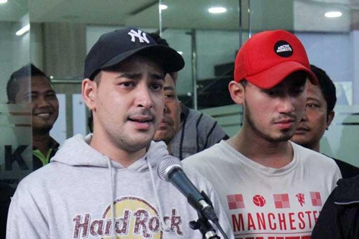 Tiga Pria Pemasok Barang Haram ke Riza Shahab Ditangkap