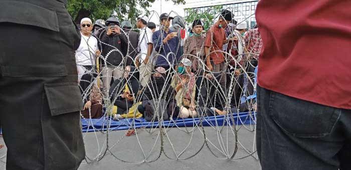 Ada 58 Orang Terduga Provokator yang Ditangkap Polisi