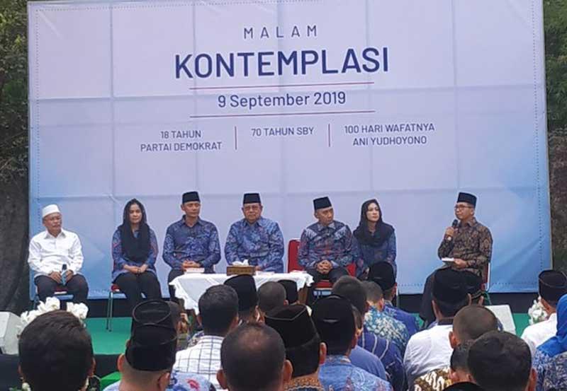 Lama Vakum, Dari Cikeas SBY Bakal Bacakan Pidato Politiknya