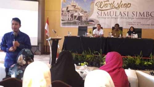 Satker PBL Riau Laksanakan Workshop Simulasi SIMBG