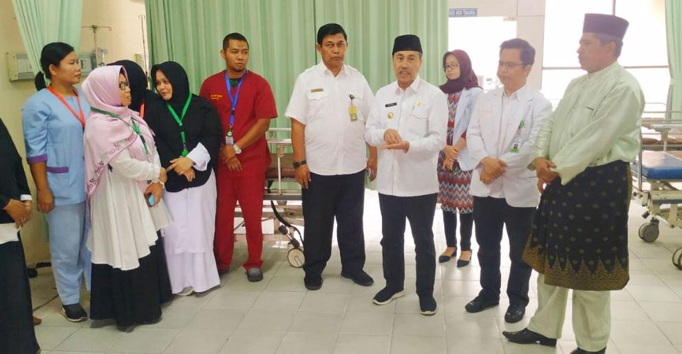 Gubri dan Bupati Siak Puas dengan Kesiapsiagaan RSUD Tengku Rafi'an