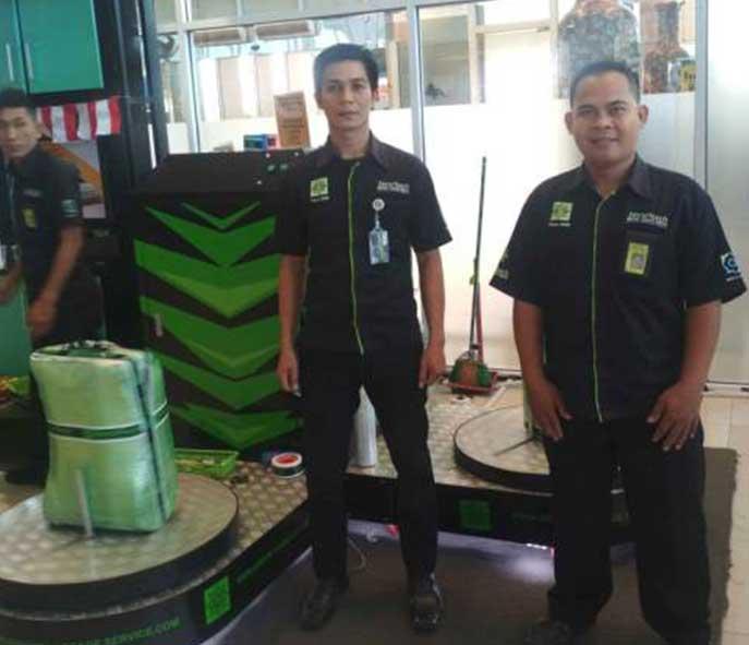 Securitech Wrapping, Produk Anak Negeri yang Menjelajah Dunia