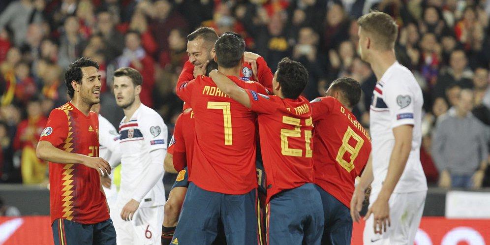 Spanyol Susah-Payah Jinakkan Norwegia