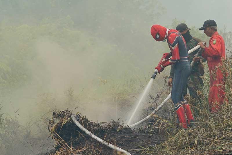 Warga Riau Mulai Ada yang Mengungsi