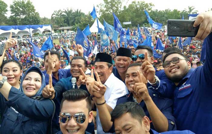 Masyarakat Senang, NasDem Yakin Syamsuar-Edy Pimpin Riau
