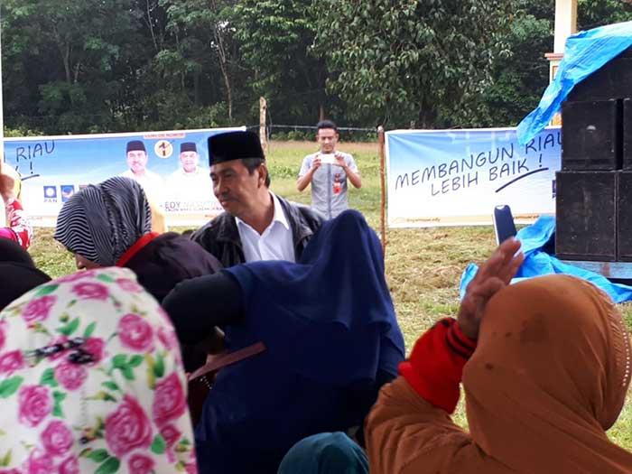 Syamsuar Sanggupi Bangun Jembatan Penghubung Tiga Kecamatan