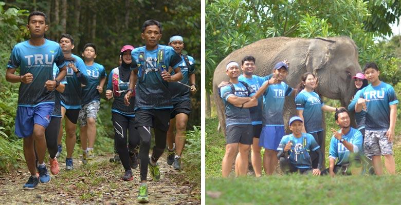 Lari Bersama di Tempat Menantang