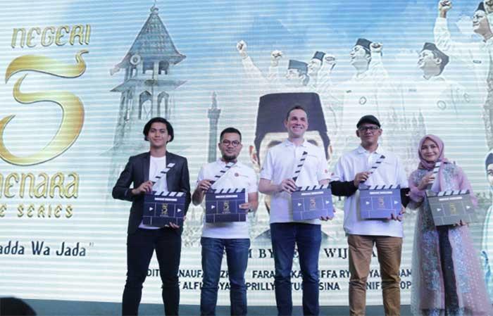 MAXstream, Melon dan E-Motion Luncurkan Serial ''Negeri 5 Menara''