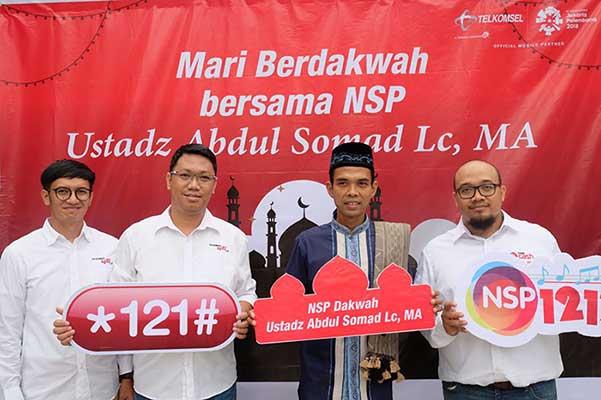 Ustadz Abdul Somad Hadir di NSP Dakwah Telkomsel