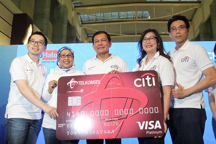 Telkomsel dan Citibank Beri Manfaat Lebih pada Pelanggan Kartu Kredit