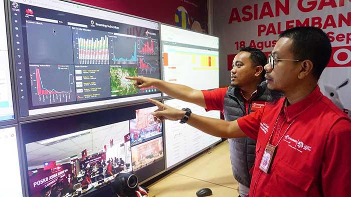 Trafik dan Payload Data Telkomsel  Naik 720 Persen saat Pembukaan Asian Games