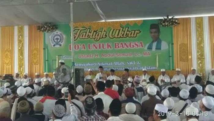 Jamaah Bangkalan Madura Turut Doakan Ibunda UAS