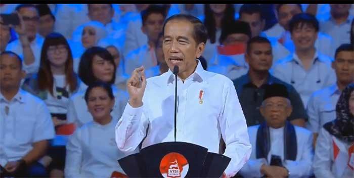 Ini Isi Orasi Joko Widodo di Acara Visi Indonesia