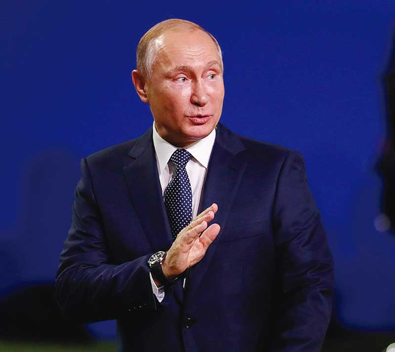 Terima Kasih Presiden Putin