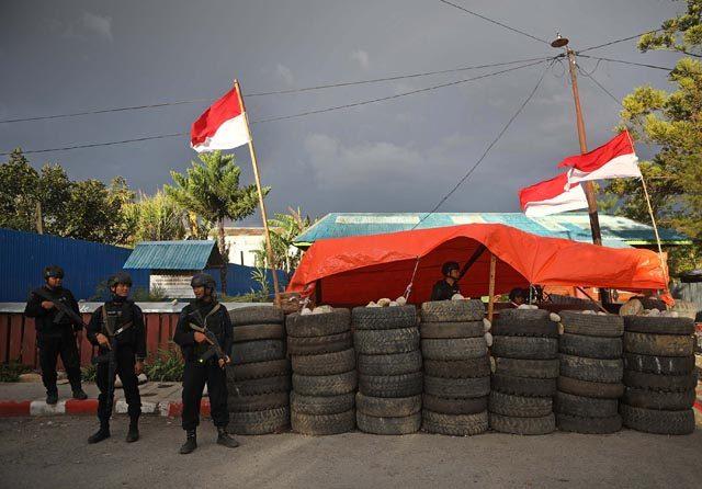 Dua Warga Ditikam di Wamena