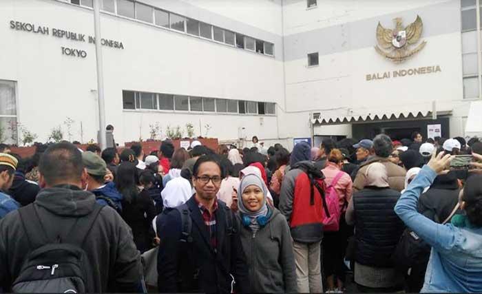 Hari Ini Joko Widodo sudah Menyoblos di Jepang